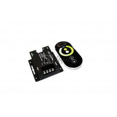 MIX-контроллер LED CCT touch 12A (12V/24V, 144W/288W, 2CH)