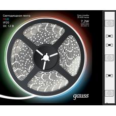 Лента LED 5050-SMD 7.2W 12V DC RGB (блистер 5м)
