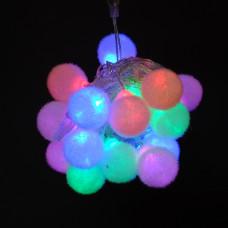 """Гирлянда """"Шары """" многоцветная IP44 5м 50PCS 1.2W220V светодиодная"""